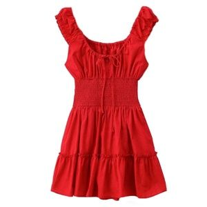 Goodnight Macaroon Laddy Ruched Dress